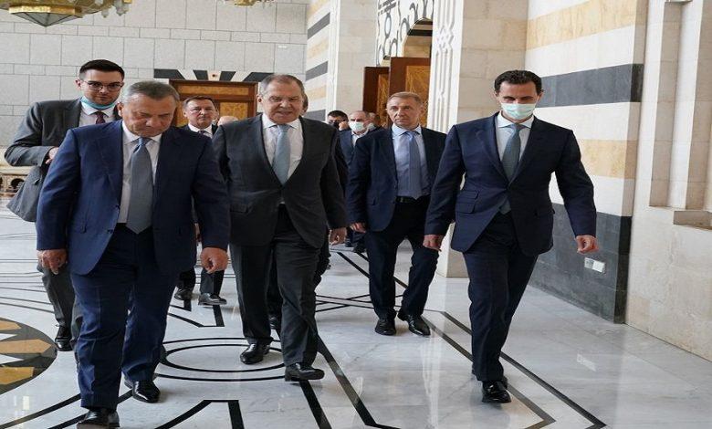لافروف بشار الأسد