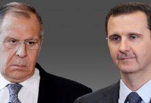 """صورة """"لافروف"""" يحسم الجدل بشأن عملية إدلب ويكشف ما بحثه مع بشار الأسد أثناء زيارته الأخيرة إلى دمشق!"""