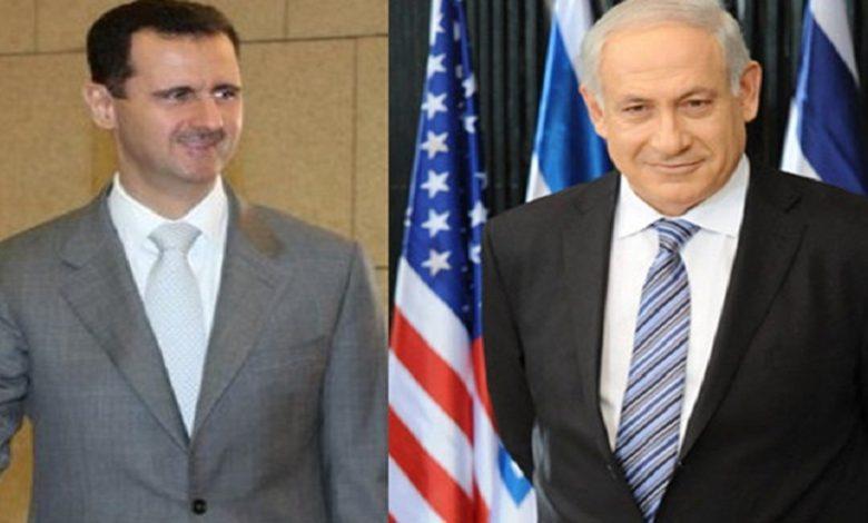 مفاوضات بين بشار الأسد وإسرائيل