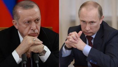 صورة صحيفة روسية: أردوغان رسم خطاً أحمر أمام بوتين بسبب إدلب ..!
