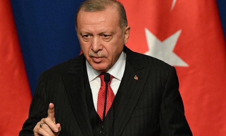 أردوغان يوجه رسالة لروسيا وإيران