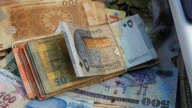 صورة انخفاض كبير في قيمة الليرة السورية مقابل العملات الأجنبية اليوم الأحد 11/10/2020
