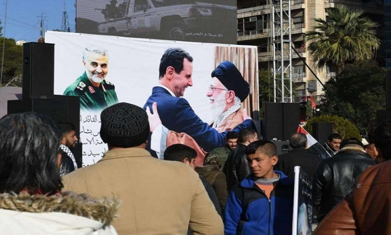 إيران دير الزور
