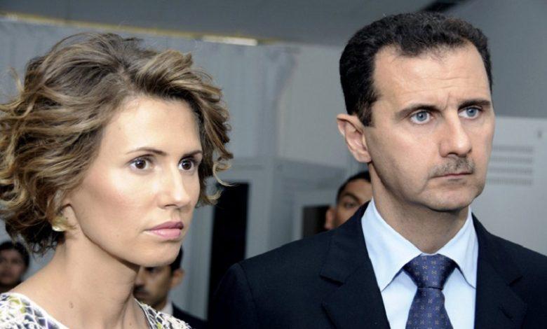 اتفاق بين بشار الأسد وزوجته