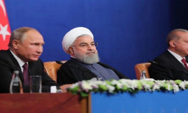 العلاقة بين روسيا وتركيا وإيران