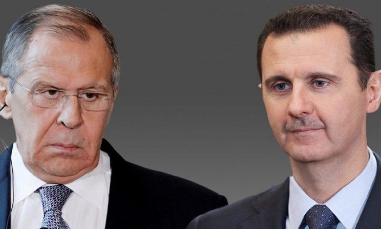 القيادة الروسية نظام الأسد