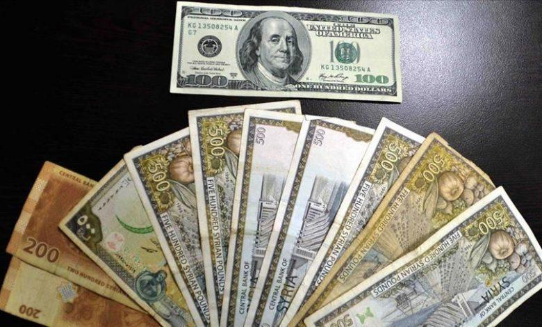 الليرة السورية العملات الأجنبية