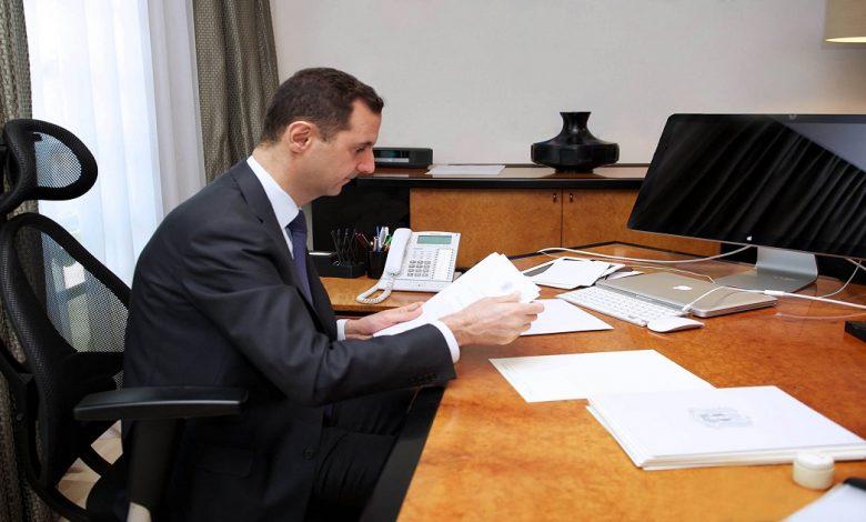 بشار الأسد يصدر قرارات هامة