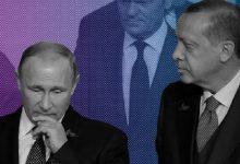 صورة بعد اتصال هاتفي مع بوتين.. أردوغان يعلق على التطورات الأخيرة في إدلب ويصعد لهجته ضد روسيا