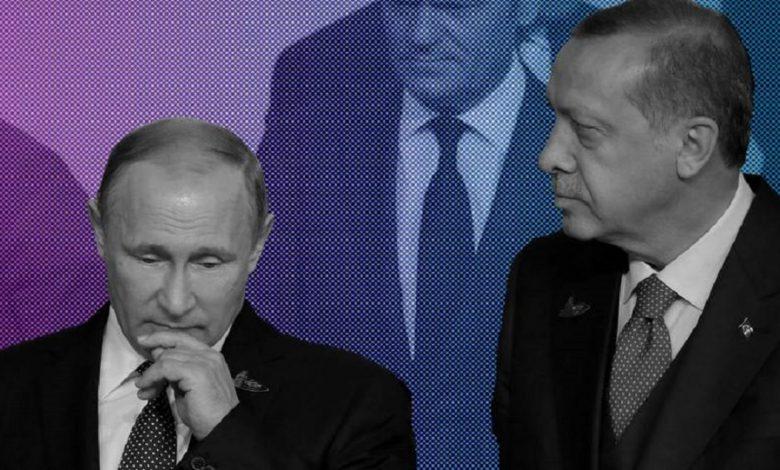 بوتين أردوغان إدلب
