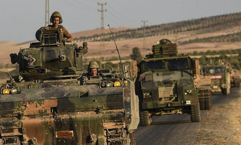 تعزيزات تركية ضخمة