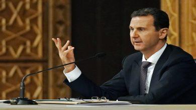 """صورة """"علويون"""" يوجهون رسالة هامة إلى بشار الأسد بشأن الترشح للانتخابات المقبلة.. ماذا طلبوا منه؟"""