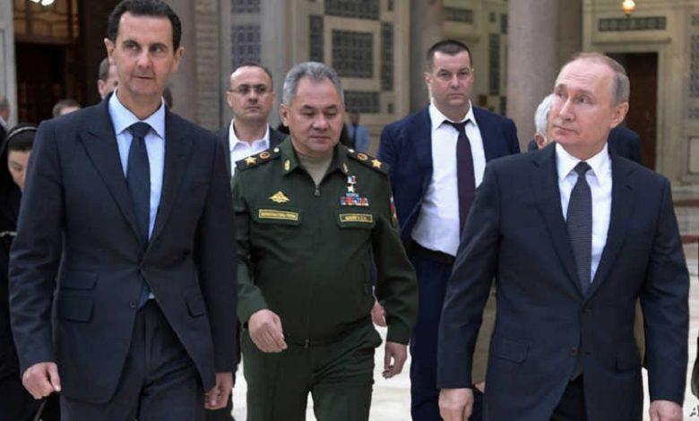 روسيا الأسد