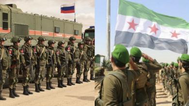 صورة عملية عسكرية للجيشين التركي والوطني السوري شرق الفرات.. وقيادة العمليات الروسية في سوريا تتدخل!