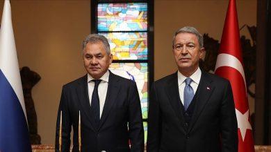صورة مباحثات روسية تركية جديدة.. وهذا ما قاله وزير الدفاع التركي لنظيره الروسي بشأن اتفاق إدلب!