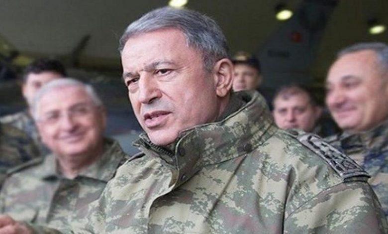 وزير الدفاع التركي يدلي بتصريحات هامة