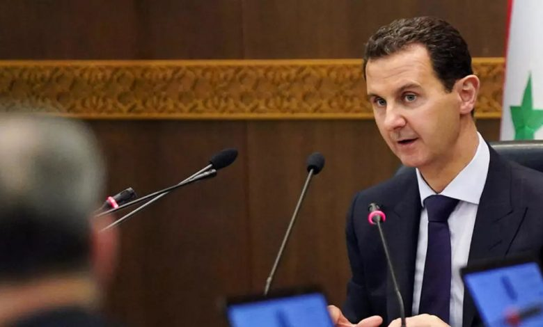 اجتماعات داخل قصر الأسد بدمشق