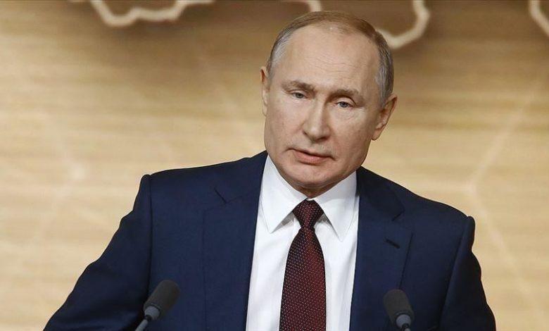 استقالة بوتين