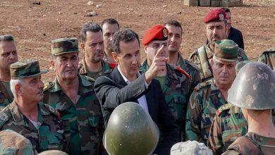 """صورة الأسد يجري تغييرات جديدة تطال قادة تشكيلاته العسكرية.. و""""لونا الشبل"""" تتوعد بتنفيذ عمل عسكري شمال سوريا"""