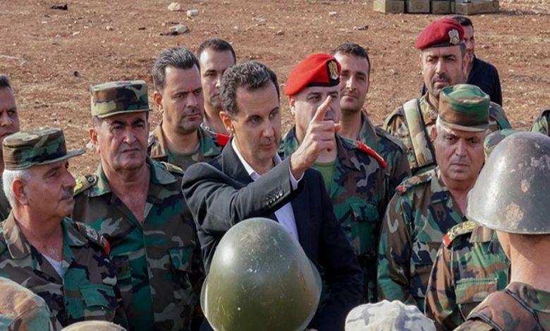 الأسد يجري تغييرات جديدة