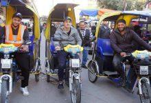 """صورة """"الباكسي"""" حل سحري لمواجهة ارتفاع أسعار الوقود والازدحام في شوارع دمشق"""