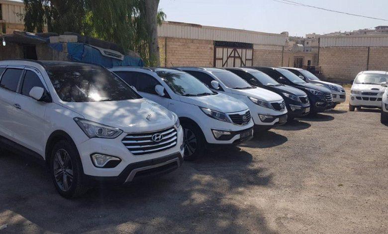 السيارات المستعملة شمال سوريا