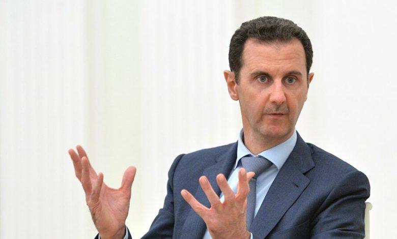 الولايات المتحدة نظام الأسد