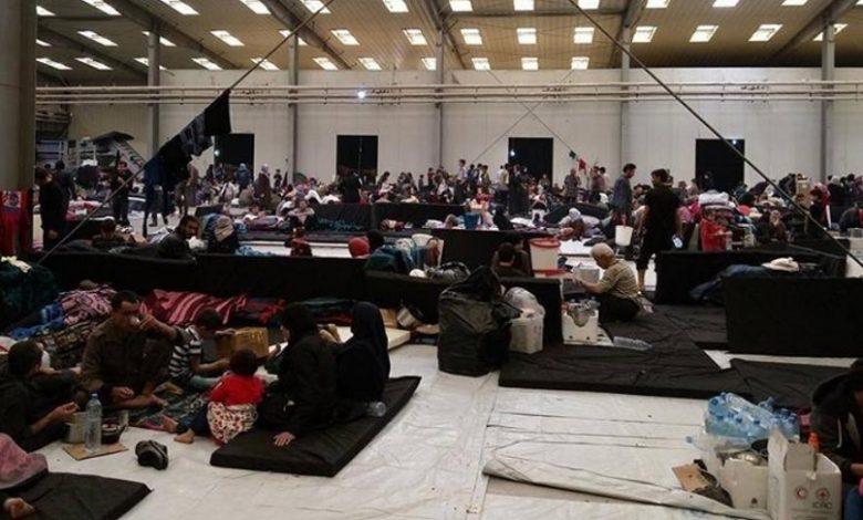 بشار الأسد اللاجئين