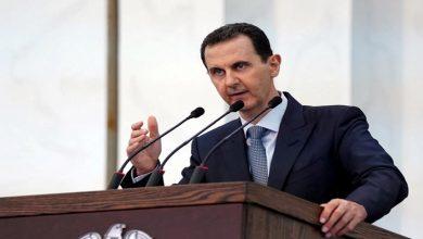 """صورة صحيفة مقربة من """"حزب الله"""" تتحدث عن عمل أمني كبير في دمشق يجبر بشار الأسد على تغيير مكان إقامته"""