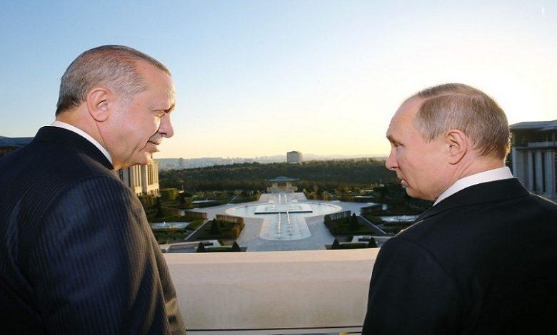 بوتين أردوغان قره باغ