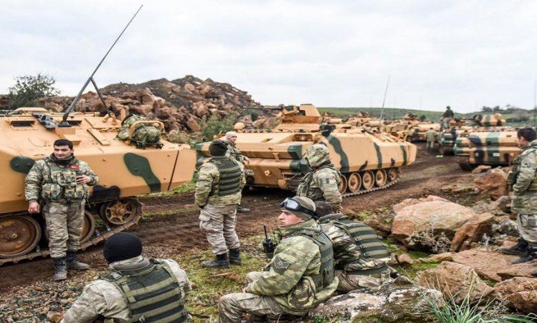 تركيا عمل عسكري إدلب