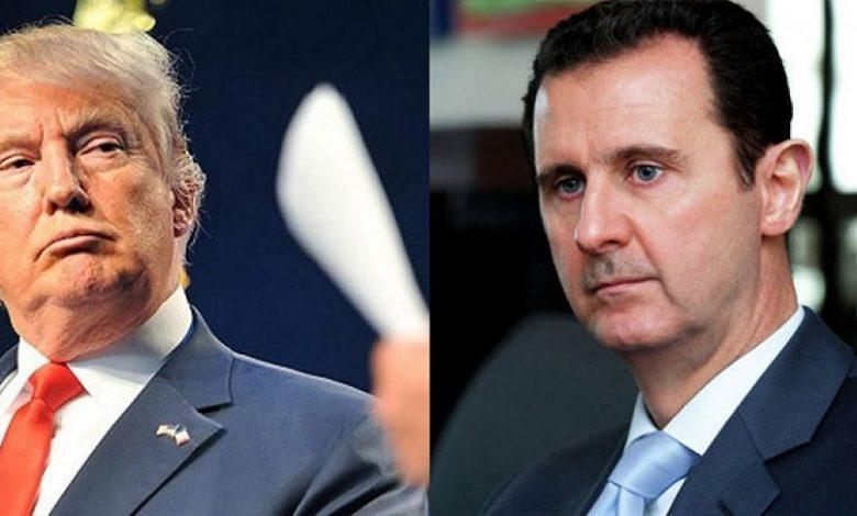 ترمب نظام الأسد