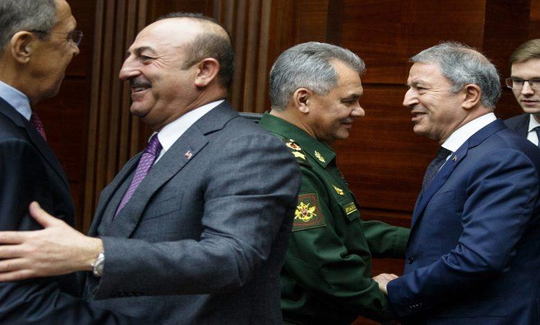 روسيا تركيا قره باغ