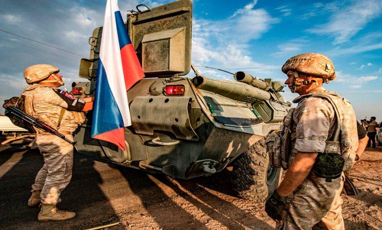 عملية روسية إدلب