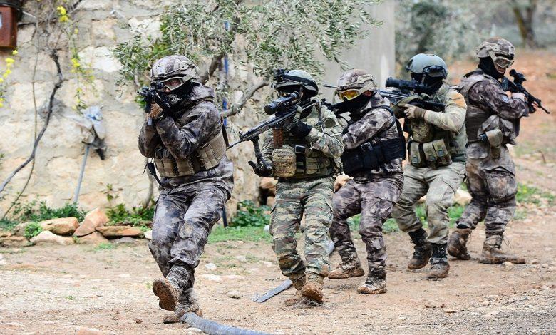 قوات الكوماندوز التركية