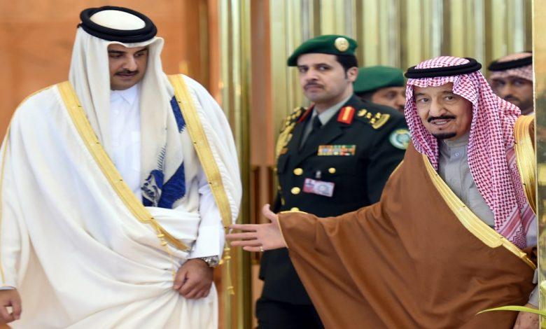 العلاقات بين قطر والسعودية