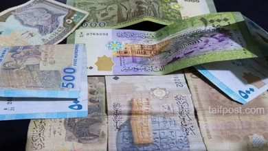 صورة انخفاض جزئي تسجله الليرة السورية مقابل العملات الأجنبية وارتفاع ملحوظ بأسعار الذهب محلياً وعالمياً