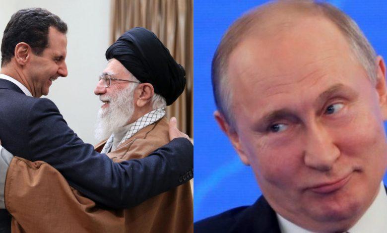 صحيفة روسية نظام الأسد