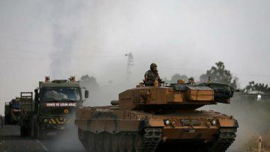 صورة حشود وتحركات عسكرية تنذر بعملية تركية وشيكة وقوات الأسد تستعد لمواجهة الجيش التركي شرق الفرات!