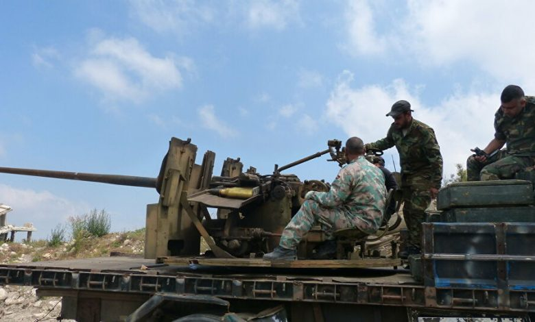 عملية عسكرية ضد إدلب