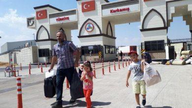 صورة معبر جرابلس يفتح أبوابه أمام السوريين الراغبين بالعودة إلى تركيا ضمن إجراءات وشروط محددة!