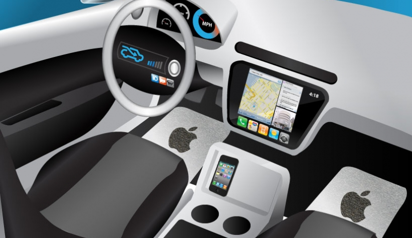 سيارة آبل ذاتية القيادة