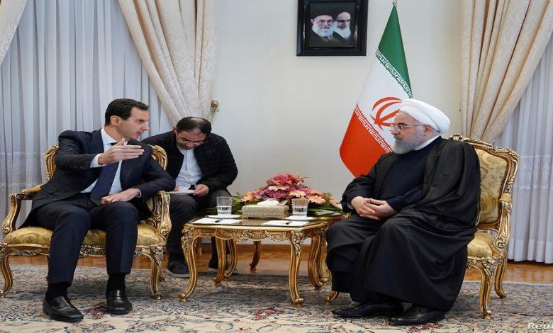 إيران معاهدة جديدة نظام الأسد