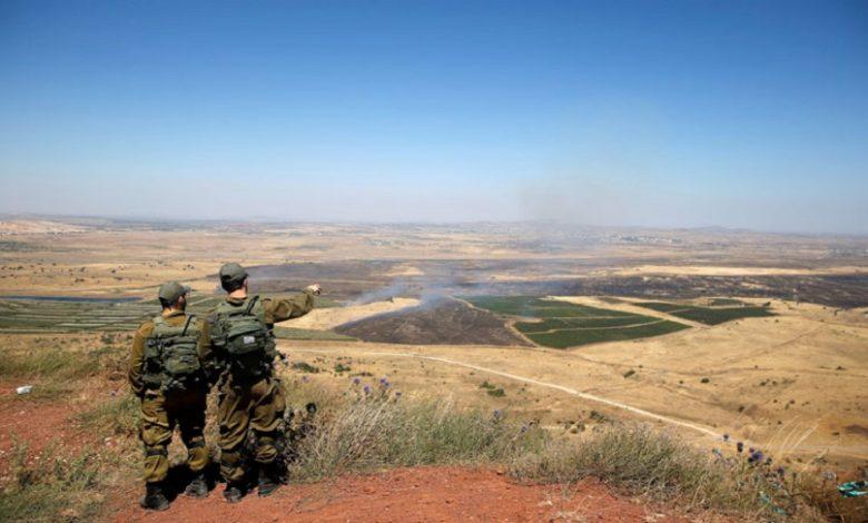 الجيش الإسرائيلي رسالة لضابط سوري