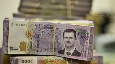 صورة استمرار انخفاض الليرة السورية مقابل العملات الأجنبية ورقم قياسي جديد لأسعار الذهب في سوريا