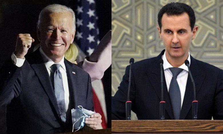 بايدن بشار الأسد