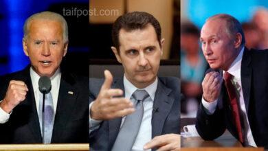 """صورة الإعلام الأمريكي يتوقع أن يضغط """"بايدن"""" على """"بوتين"""" في سوريا لإجبار بشار الأسد على التنحي!"""