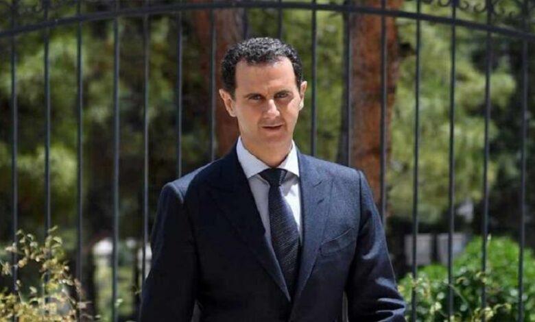 بشار الأسد القصر الجمهوري