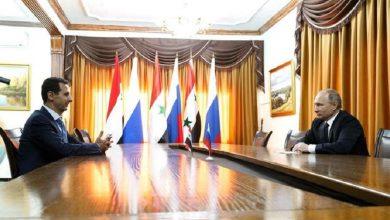 صورة بوتين لم يعرض بشار الأسد للبيع حتى اللحظة.. متى يكون البيع؟