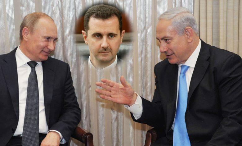 بشار الأسد ومسؤول إسرائيلي